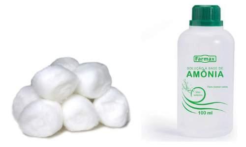 Como fazer repelente caseiro para cães - algodão e amonia